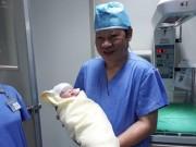3 đứa trẻ thụ tinh trong ống nghiệm chào đời ở BV tuyến tỉnh