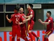 """Futsal Việt Nam  """" ngáng """"  Trung Quốc, giành ngôi Á quân"""