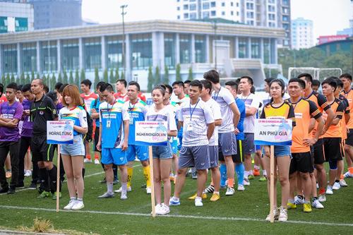 Khai mạc giải bóng đá CUP Nghemoigioi.vn: Gay cấn và cuồng nhiệt - 1