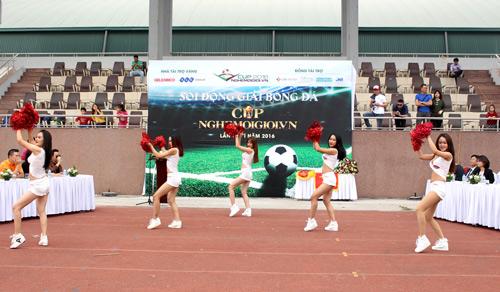 Khai mạc giải bóng đá CUP Nghemoigioi.vn: Gay cấn và cuồng nhiệt - 3