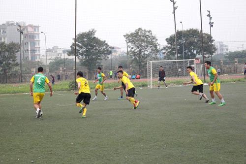 Khai mạc giải bóng đá CUP Nghemoigioi.vn: Gay cấn và cuồng nhiệt - 5