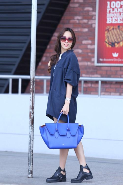 """Khi mỹ nữ Việt """"quên"""" mang giày cao mà chỉ đi dép lào, giày bệt - 19"""