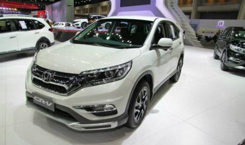 Honda CR-V bản đặc biệt với đèn pha tự động