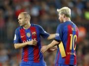 Bóng đá - Barca: Không Iniesta, tam tấu chỉ Messi biết tỏa sáng