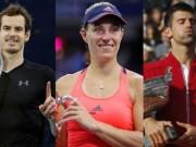 Thể thao - Bão tố tennis 2016: Murray quật đổ Djokovic, Federer & Sharapova hạn nặng (P1)
