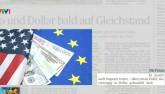 Đồng USD được dự báo sẽ sớm ngang giá Euro