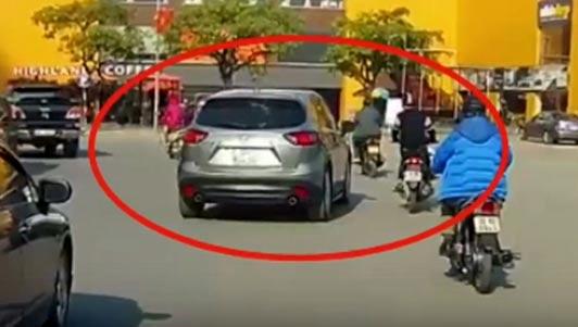 Lộ diện chủ xe Mazda CX-5 lạng lách, tông người đi xe máy