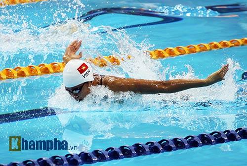 Giải bơi thế giới: Ánh Viên vào chung kết 400m hỗn hợp