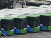 Tin tức trong ngày - Cận cảnh dàn xe buýt nhanh hiện đại nhất Thủ đô