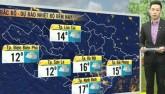 Dự báo thời tiết VTV 6/12: Đêm nay, Bắc Bộ đón không khí lạnh tăng cường