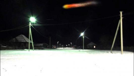 Thiên thạch phát nổ biến đêm thành ngày ở Siberia