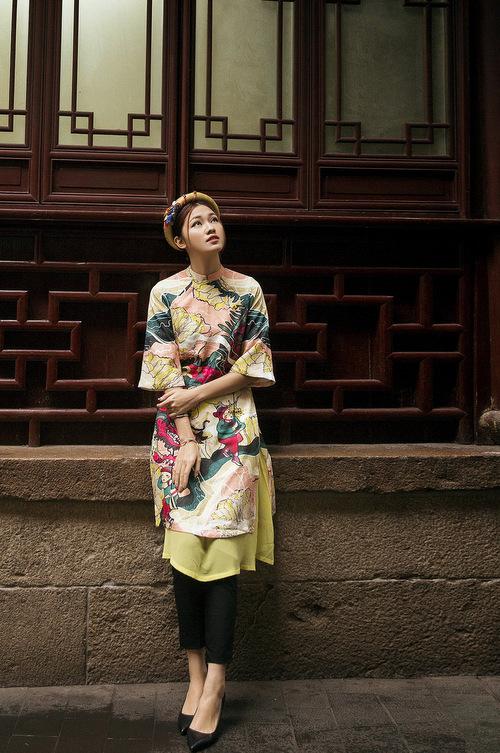 HH Mỹ Linh đẹp nao lòng giữa trời Thượng Hải - 6