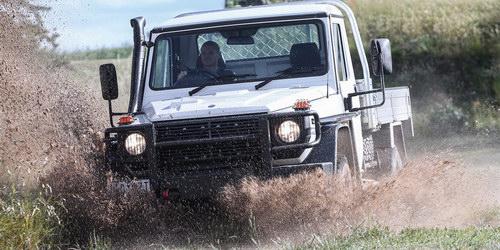 Mercedes ra mắt bán tải dựa trên G-Class - 3