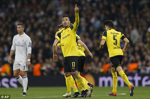 Real Madrid – Dortmund: Bật tung phút 88 - 1