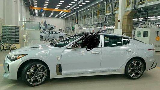 Kia GT 2017 lộ diện, giá khoảng 860 triệu đồng