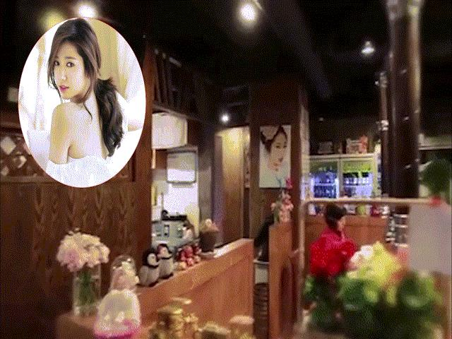 Bố mẹ Park Shin Hye mở quán lòng, treo đầy ảnh con gái