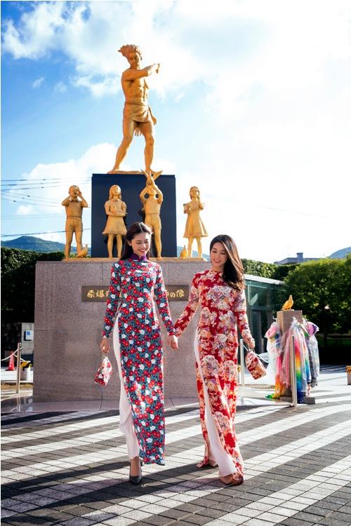 Mỹ Linh, Thanh Tú mặc Kimono đẹp hơn cả gái Nhật - 1