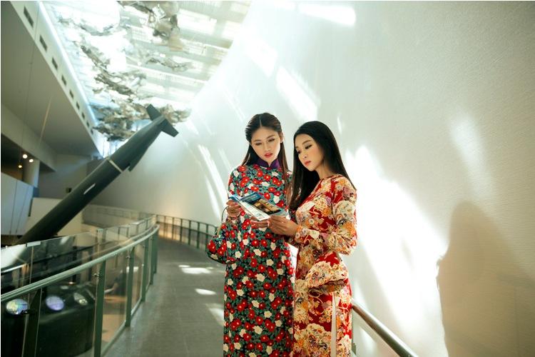 Mỹ Linh, Thanh Tú mặc Kimono đẹp hơn cả gái Nhật - 2