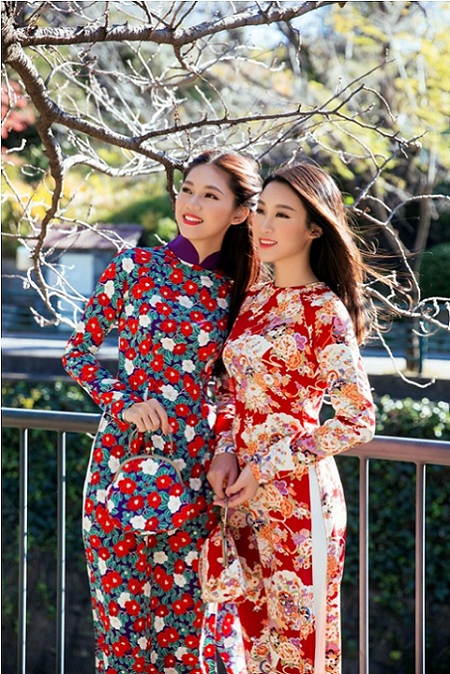 Mỹ Linh, Thanh Tú mặc Kimono đẹp hơn cả gái Nhật - 5