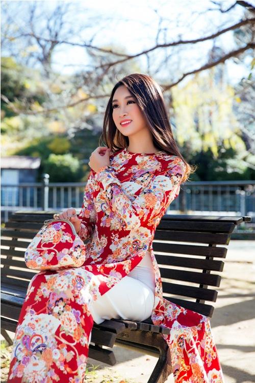 Mỹ Linh, Thanh Tú mặc Kimono đẹp hơn cả gái Nhật - 7