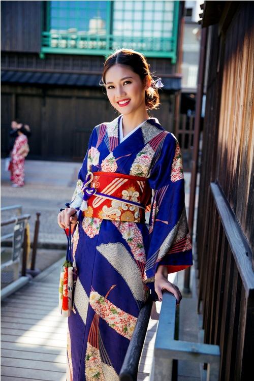 Mỹ Linh, Thanh Tú mặc Kimono đẹp hơn cả gái Nhật - 10