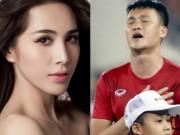 Ca nhạc - MTV - Bất ngờ với câu nói của Thủy Tiên khi Công Vinh khóc nức nở vì thua sân nhà
