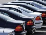 Thị trường - Tiêu dùng - HN: Ô tô kinh doanh chịu mức thu phí đăng ký mới