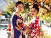 Thời trang - Mỹ Linh, Thanh Tú mặc Kimono đẹp hơn cả gái Nhật