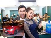 Ca nhạc - MTV - Nhã Phương lái xe của Trường Giang đi xem ca nhạc