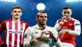 10 bàn đẹp nhất vòng bảng cúp C1: Ozil solo ảo diệu độc bá