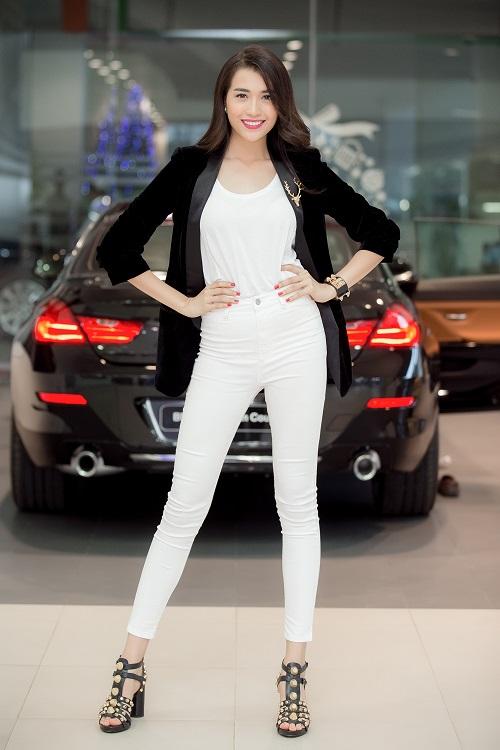 """Á hậu Lệ Hằng """"lột xác"""" trước ngày thi Miss Universe - 1"""