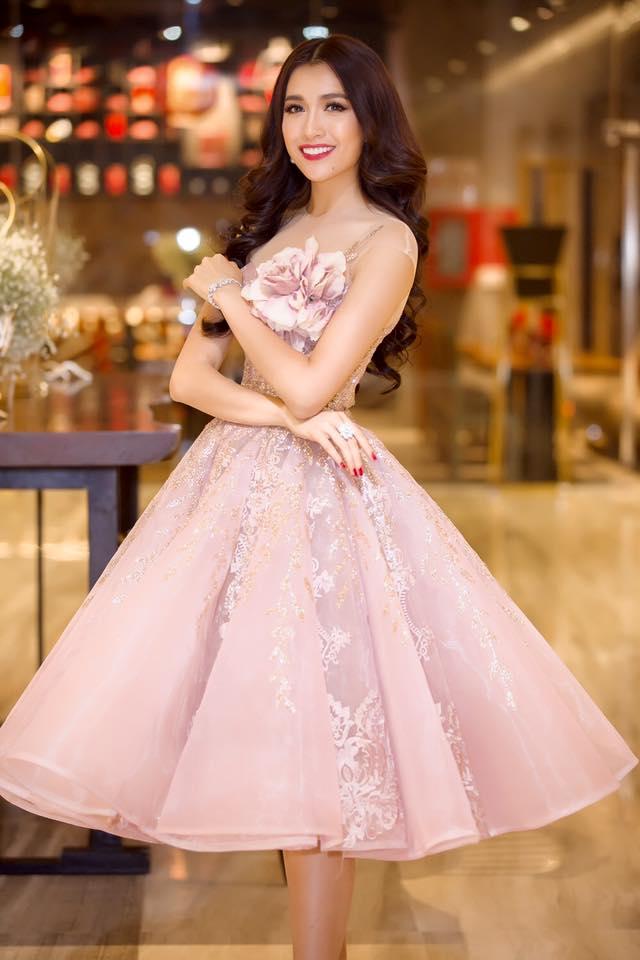 """Á hậu Lệ Hằng """"lột xác"""" trước ngày thi Miss Universe - 5"""