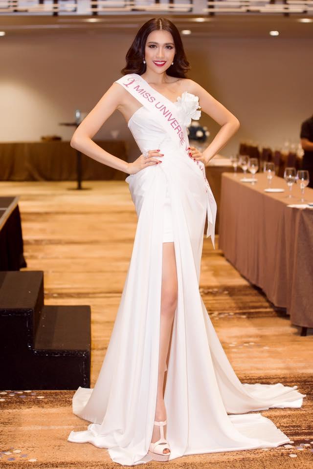 """Á hậu Lệ Hằng """"lột xác"""" trước ngày thi Miss Universe - 6"""