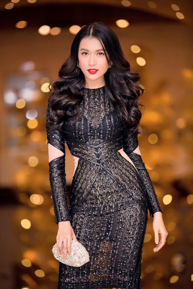 """Á hậu Lệ Hằng """"lột xác"""" trước ngày thi Miss Universe - 7"""