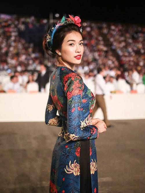 """Á hậu Lệ Hằng """"lột xác"""" trước ngày thi Miss Universe - 8"""