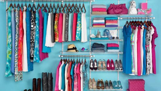 Bí quyết mặc đẹp hơn nhờ xếp tủ quần áo cực hay