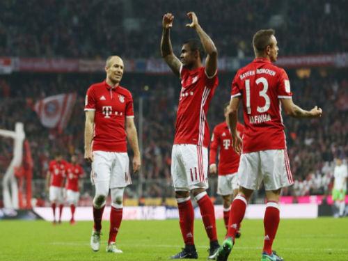 "Bayern Munich - Wolfsburg: 5 bàn kết liễu ""bầy sói"" - 1"