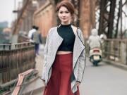 """Thời trang - Á hậu Thùy Dung hóa """"cô tấm ngày nay"""" với áo dáng yếm"""