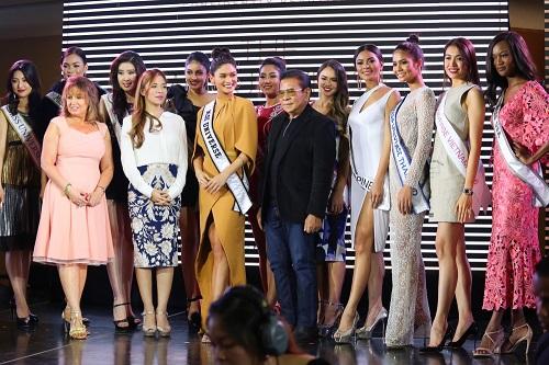 Lệ Hằng catwalk lấn át 10 mỹ nữ quốc tế thi Miss Universe - 8