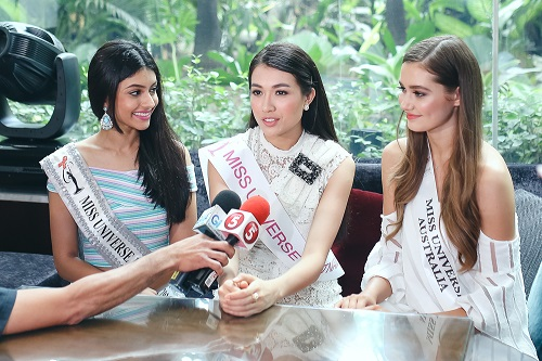 Lệ Hằng catwalk lấn át 10 mỹ nữ quốc tế thi Miss Universe - 6