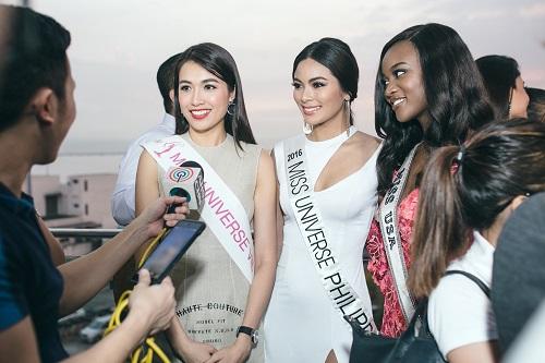 Lệ Hằng catwalk lấn át 10 mỹ nữ quốc tế thi Miss Universe - 7