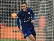 Bóng đá - Leicester - Man City: Vardy trên đỉnh, Pep dưới địa ngục