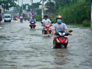 Tin tức trong ngày - Triều cường đạt đỉnh, một số khu vực ở SG có thể ngập sâu