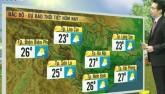 Dự báo thời tiết 11/12: Bắc Bộ trời đẹp, Nam Bộ mưa lớn
