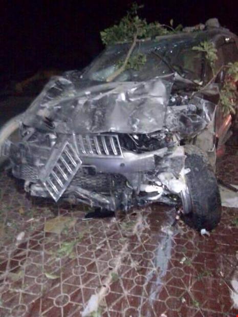 Giám đốc lái ô tô đâm hai người tử vong - 1