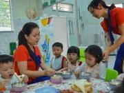Giáo dục - du học - Nơm nớp lo giáo viên mầm non bỏ việc