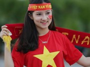 Bạn trẻ - Cuộc sống - Tiết lộ bất ngờ về fan nữ đẹp lai Tây tại AFF cup 2016