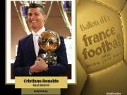 """Bóng đá - Quả bóng Vàng 2016: Đả bại Messi, Ronaldo lập """"poker"""""""