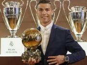 """Bóng đá - Ronaldo lần thứ 4 đoạt QBV: """"Hãy yêu như chưa yêu lần nào!"""""""