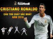 Bóng đá - Giành QBV, Ronaldo = 2 Messi: Trên đỉnh cao danh vọng